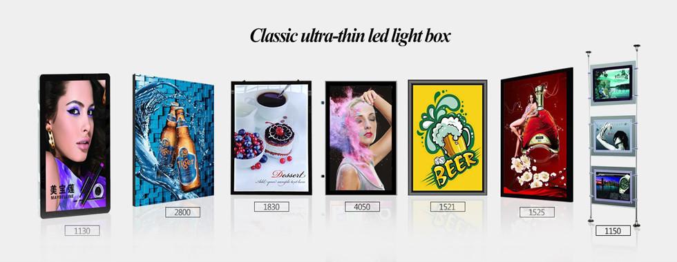 China best LED Light Box Sign on sales