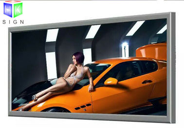 China Large Water Resistance Slim Led Lightbox Custom Lighted Wall Advertisement supplier