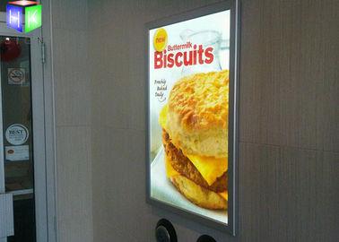 China Hanging Poster Snap Frame Light Box High Brightness 3D Laser Engraving supplier