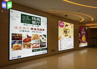 China Illuminated Restaurant Slim LED Light Box Magnetic Frame High Brightness supplier