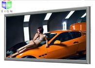 Large Water Resistance Slim Led Lightbox Custom Lighted Wall Advertisement