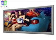 Fabric Poster Frameless LED Slim Light Box Waterproof , Thin LED Light Box