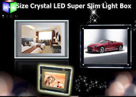 China Crystal LED Backlit Display Frame LED Panel Light Box For Hotel Decorative factory