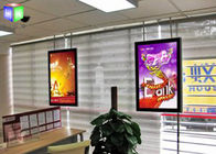 China Double Sided Lightbox With Snap Frame , Acrylic Thin LED Light Panel Display factory