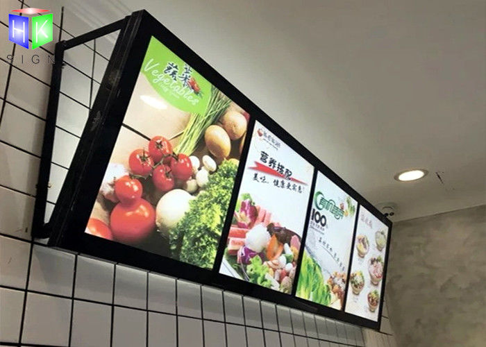 Fast Food LED Menu Light Box Wall Mounted / Slim A2 Light Box Menu Boards & Fast Food LED Menu Light Box Wall Mounted / Slim A2 Light Box Menu ... Aboutintivar.Com