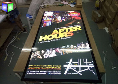 Wall LED Advertising Light Boxes Backlit Movie Poster Frame UV Machine Printing