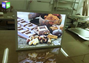 A2 Size Custom Snap Frame LED Light Box Poster Holder Wall Mounted 100V - 240V