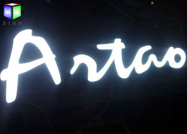 Customised LED Channel Letter Signs / Lighted Business Signs Outdoor Water Resistant