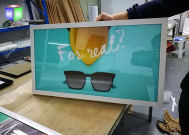 A3 Aluminum Poster Frame , Picture Frame Slim Led Light box For Movie Poster
