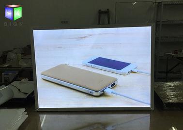slim aluminum snap frame led light box for movie poster advertising backlit sign